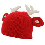 カスタムかわいい子供のクリスマスの冬の帽子の帽子
