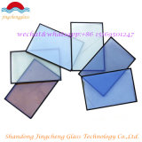 Verre isolant transparent / teinté / réfléchissant / tempéré / stratifié / argon / basse-E avec certification SGS / ISO
