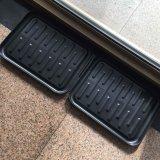 Cassetto gommato del pattino delle stuoie del caricamento del sistema di gomma del PVC della plastica