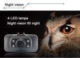 1080P 2.7 '' TFT buntes LCD Kamera-Fahrzeug-reisendes Daten-Schreiber-Auto DVR der Armaturenbrett-Kamera-zwei
