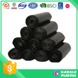 Polietileno de baja densidad bolsa de basura Heavy Duty Negro