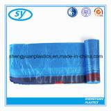 Plastikdrawstring-Abfall-Beutel auf Rolle