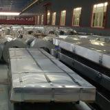 los azulejos de azotea de acero del metal de 0.45*1000m m acanalados galvanizaron la hoja de acero
