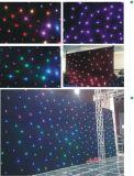 Stern-weißer Vorhang der Disco-LED für Hochzeits-Stadium