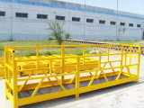 Plate-forme suspendue de Zlp 630 électriques de corde de travail