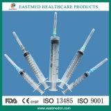3 - van Delen of 2-delen Beschikbare Spuit, Gebruik voor Intramusculaire Injectie