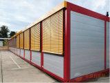 ISO 선적 컨테이너는 움직일 수 있는 상점 집을 만들었다