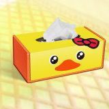 Caixa de empacotamento impressa teste padrão do presente de papel dos desenhos animados