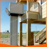 Piccola piattaforma verticale elettrica poco costosa dell'elevatore dell'elevatore dell'uomo per gli handicappati