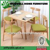 6部分のベンチが付いている木製の食堂の家具