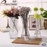 500ml Vaas van de Knop van het Glas van Homeware van de decoratie de Duidelijke