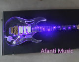 Afanti Music/Acrylic LED Jem Electric Guitar (AAG - 055)