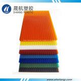 Het kleurrijke Poly Holle Blad van PC van het Carbonaat door 100% Lexan