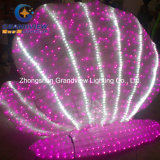 Christmas Holiday Decoration를 위한 LED Acrylic Lighted Motif Shell