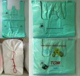 ポリ袋の一重項のプラスチックTシャツのショッピング・バッグ