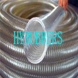 Tuyau flexible tressé en PVC, tuyau en spirale en PVC, tuyau d'aspiration en PVC