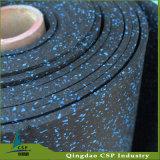 циновка пригодности пола золотистого поставщика Китая толщины 8mm резиновый