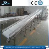 Зеленый ленточный транспортер PVC для промышленного