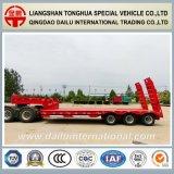 Fabrikant Lowboy/de Lage Aanhangwagen van de Vrachtwagen van de Oplegger van het Bed