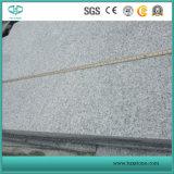G654 pietra per lastricati, granito grigio che pavimenta, pietra per lastricati grigia