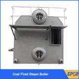 Caldera encendida carbón doble completamente automático del tambor