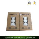 Candela bianca di Unscented Tealight per la decorazione domestica