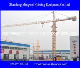De Kraan van de Toren van de Leverancier van China/de Kraan van de Toren van de Bouw Qtz80 (Maximum TC6010) -. Capaciteit: 8t/Jib 60m