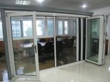 Puertas de plegamiento de aluminio estándar australianas/puerta BI-Plegable de aluminio