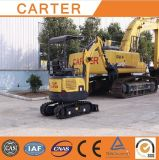 CT16-9dp com borracha de Canopy&Retractable Chassis& segue a mini máquina escavadora