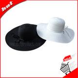 Chapéu da mulher Chapéu do disconto do verão