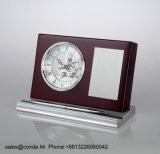 Часы стола дела высокого качества деревянные с пер K8033