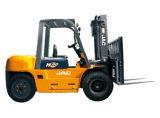 真新しいJAC 8ton Capacity Diesel Engine Forklift Truck