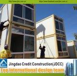 Vorfabriziertes Haus-lebende Verschiffen-Stahlkonstruktion-modulare Behälter-vorfabrizierthäuser