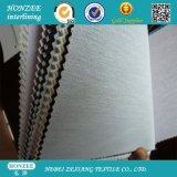 Scrivere tra riga e riga fusibile tessuto fascia della vita dei pantaloni con il rivestimento del LDPE