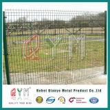 Painel soldado revestido PVC curvado 3D da cerca da cerca do engranzamento de fio da alta qualidade