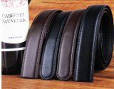 Cinghie di cuoio nere per gli uomini (HPX-160706)