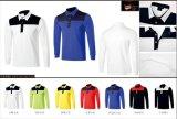 Les chemises de golf sèchent longue les chemises de sports assorties par chemise en bonne santé d'automne de couleur