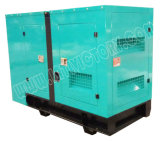 stille Diesel 63kVA Yuchai Generator voor het Project van de Bouw met Certificatie Ce/Soncap/CIQ/ISO