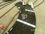 Concurrentiel Granit noir pour comptoir de tuiles et de