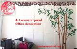 Hoja interna acústica de la tarjeta del orificio del panel de pared del panel de techo del panel de la decoración del techo/de la pared del panel del panel de Hoheycomb del panel de la tarjeta de la ranura