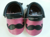 Ботинки младенца кожаный мягкие нижние крытые