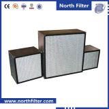 Alta eficiencia de Deep-plisado panel de filtros de aire
