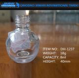 8개 Ml 투명한 장식용 유리제 매니큐어 병