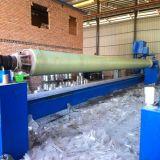 Molde de produção de tubos de bobina de filamento de tubos de FRP