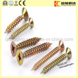 Acier inoxydable Serrated Thread Twinfast Wood Screw