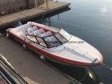 Bateau de vitesse de fibre de verre d'Aqualand 25feet 7.6m/bateau de passager/vedette (760)