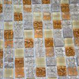 تصميم جديدة زرقاء [كرستل غلسّ] مزيج معدنة [موسيك تيل] جدار زخرفة فسيفساء