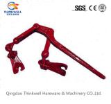 Красный покрашенный куя тип связыватели рукоятки когтя нагрузки