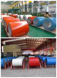 A cor de venda quente de PPGI revestiu a bobina de aço galvanizada para a construção