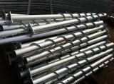 Pile Q235 en acier spiralée pour des frontières de sécurité/panneaux solaires